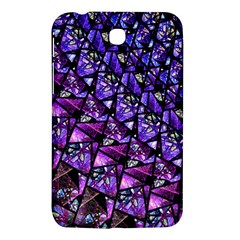 Blue Purple Glass Samsung Galaxy Tab 3 (7 ) P3200 Hardshell Case