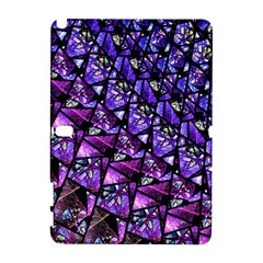 Blue Purple Glass Samsung Galaxy Note 10 1 (p600) Hardshell Case