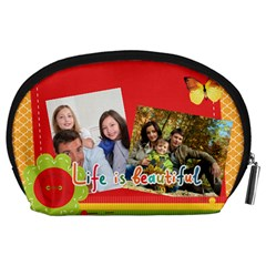 Family By Family   Accessory Pouch (large)   Ufmo9ojuxwjg   Www Artscow Com Back