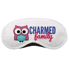 Lucy Logo Coral Sleeping Mask by CharmedFamilyDesigns