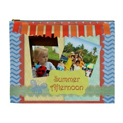 Summer By Summer Time    Cosmetic Bag (xl)   Zb6lak0ormes   Www Artscow Com Front