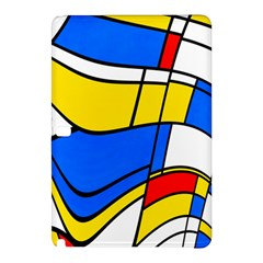 Colorful Distorted Shapessamsung Galaxy Tab Pro 10 1 Hardshell Case by LalyLauraFLM