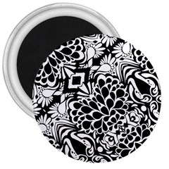70 s Wallpaper 3  Button Magnet by KirstenStar