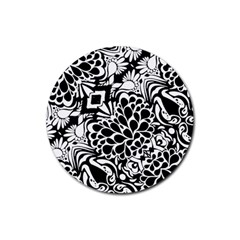 70 s Wallpaper Drink Coaster (round)