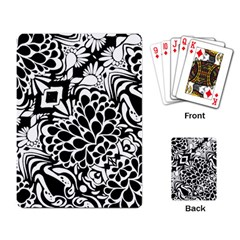 70 s Wallpaper Playing Cards Single Design