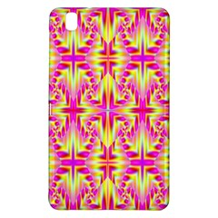 Pink And Yellow Rave Pattern Samsung Galaxy Tab Pro 8 4 Hardshell Case by KirstenStar