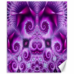 Purple Ecstasy Fractal Canvas 8  X 10
