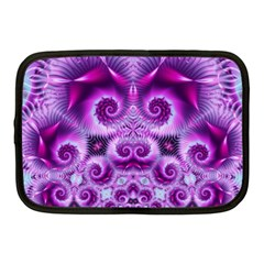 Purple Ecstasy Fractal Netbook Case (medium) by KirstenStar