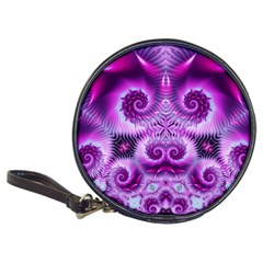 Purple Ecstasy Fractal Classic 20 Cd Wallet by KirstenStar