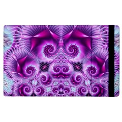 Purple Ecstasy Fractal Apple Ipad 3/4 Flip Case by KirstenStar
