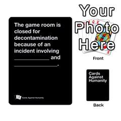 Spasmicpuppy Cards Against Humanity Black Deck By Spasmicpuppy Front - Heart5