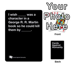 Spasmicpuppy Cards Against Humanity Black Deck By Spasmicpuppy Front - Diamond8