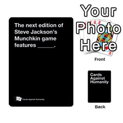 Spasmicpuppy Cards Against Humanity Black Deck By Spasmicpuppy   Playing Cards 54 Designs   Wxwa7ywdoe22   Www Artscow Com Front - Diamond9