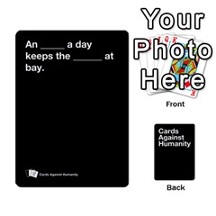 Spasmicpuppy Cards Against Humanity Black Deck By Spasmicpuppy   Playing Cards 54 Designs   Wxwa7ywdoe22   Www Artscow Com Front - Club8