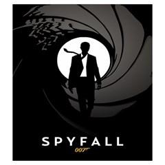Skyfall 2 By Liron Levy   Drawstring Pouch (medium)   J46eeol7gyhy   Www Artscow Com Back