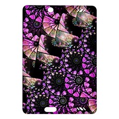Hippy Fractal Spiral Stacks Kindle Fire Hd (2013) Hardshell Case by KirstenStar