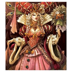 Rococo Bag By Liron Levy   Drawstring Pouch (medium)   Udl5l2069ufv   Www Artscow Com Back
