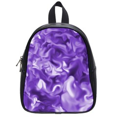 Lavender Smoke Swirls School Bag (small) by KirstenStar