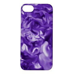 Lavender Smoke Swirls Apple Iphone 5s Hardshell Case by KirstenStar