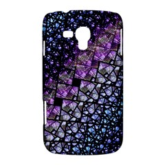 Dusk Blue and Purple Fractal Samsung Galaxy Duos I8262 Hardshell Case  by KirstenStar