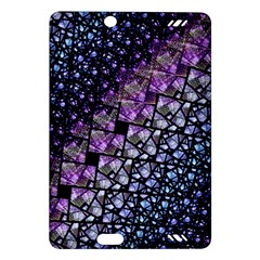 Dusk Blue And Purple Fractal Kindle Fire Hd (2013) Hardshell Case by KirstenStar