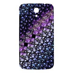 Dusk Blue And Purple Fractal Samsung Galaxy Mega I9200 Hardshell Back Case by KirstenStar