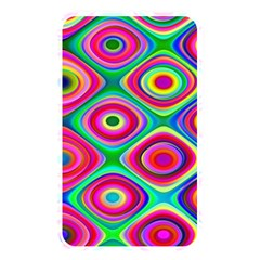 Psychedelic Checker Board Memory Card Reader (rectangular) by KirstenStar