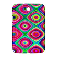 Psychedelic Checker Board Samsung Galaxy Note 8 0 N5100 Hardshell Case  by KirstenStar