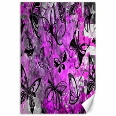 Butterfly Graffiti Canvas 24  X 36  (unframed) by ArtistRoseanneJones