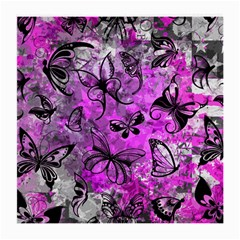 Butterfly Graffiti Glasses Cloth (medium, Two Sided) by ArtistRoseanneJones