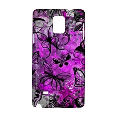 Butterfly Graffiti Samsung Galaxy Note 4 Hardshell Case