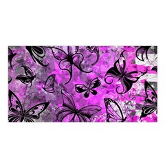 Butterfly Graffiti Satin Shawl by ArtistRoseanneJones