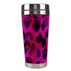 Pink Leopard Stainless Steel Travel Tumbler