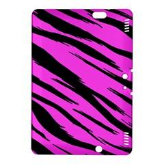 Pink Tiger Kindle Fire Hdx 8 9  Hardshell Case by ArtistRoseanneJones