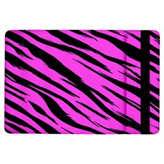 Pink Tiger Apple Ipad Air Flip Case by ArtistRoseanneJones