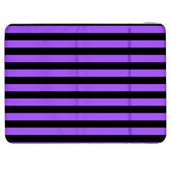 Purple Stripes Samsung Galaxy Tab 7  P1000 Flip Case