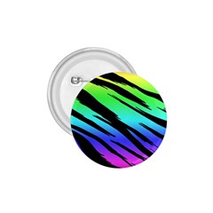 Rainbow Tiger 1 75  Button by ArtistRoseanneJones