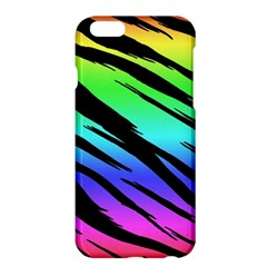 Rainbow Tiger Apple Iphone 6 Plus Hardshell Case by ArtistRoseanneJones