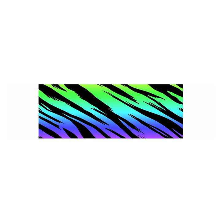 Rainbow Tiger Satin Scarf (Oblong)