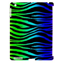 Rainbow Zebra Apple Ipad 3/4 Hardshell Case (compatible With Smart Cover) by ArtistRoseanneJones