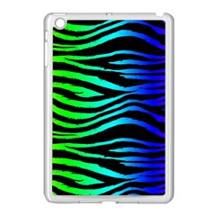 Rainbow Zebra Apple Ipad Mini Case (white) by ArtistRoseanneJones