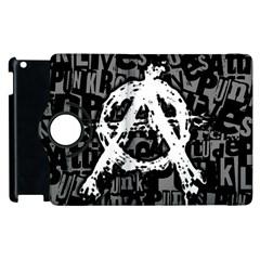 Anarchy Apple Ipad 2 Flip 360 Case by ArtistRoseanneJones
