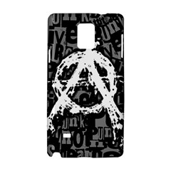 Anarchy Samsung Galaxy Note 4 Hardshell Case by ArtistRoseanneJones