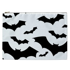 Deathrock Bats Cosmetic Bag (xxl) by ArtistRoseanneJones