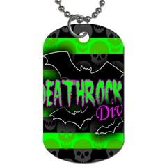 Deathrock Diva Dog Tag (one Sided) by ArtistRoseanneJones