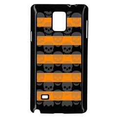 Deathrock Stripes Samsung Galaxy Note 4 Case (black)
