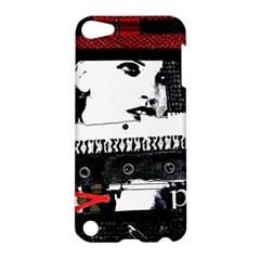 Punk Chick Apple Ipod Touch 5 Hardshell Case by ArtistRoseanneJones
