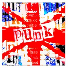 Punk Union Jack Large Satin Scarf (square)