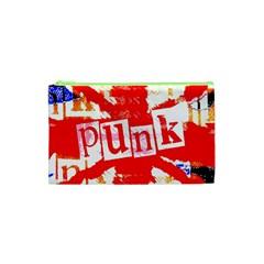 Punk Union Jack Cosmetic Bag (xs) by ArtistRoseanneJones