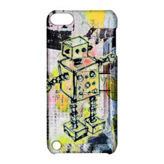 Graffiti Graphic Robot Apple Ipod Touch 5 Hardshell Case With Stand by ArtistRoseanneJones